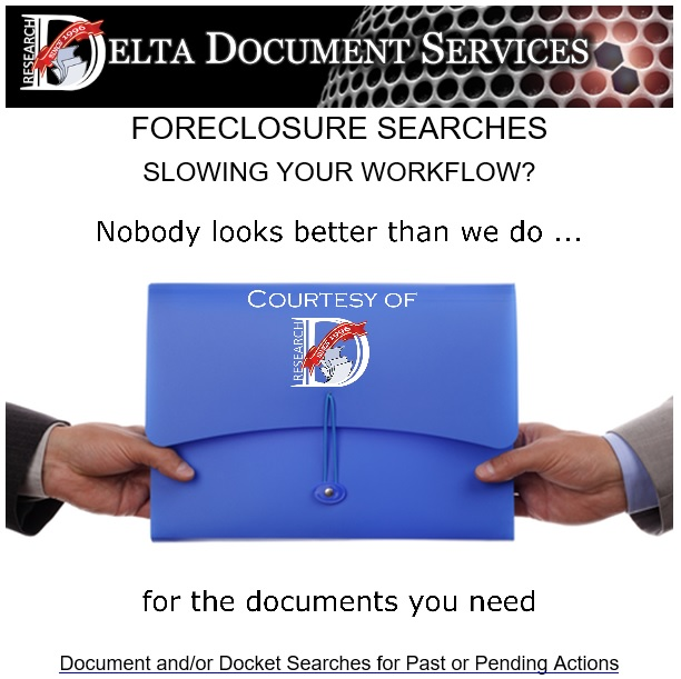Foreclosure Searches